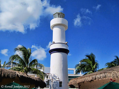 Lighthouse at Cozumel, Mexico. Photo by Ferrell Jenkins.