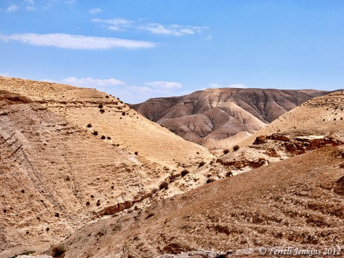 Wilderness of Judea on way from Jerusalem to Jericho. Photo by Ferrell Jenkins.