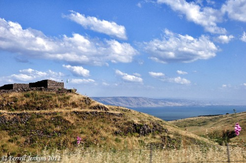 Chorazin and the Sea of Galilee. Photo by Ferrell Jenkins.