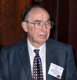 Herschel Shanks at SBL in Toronto, 2002.