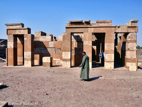 Satet Temple on Elephantine Island. Photo by Ferrell Jenkins.