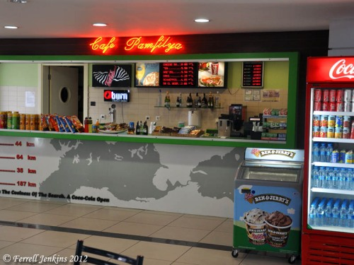 Cafe Pamfilya in the Antalya International Airport. Photo by Ferrell Jenkins.