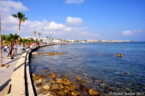 The harbor at Paphos. Photo by Ferrell Jenkins.