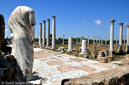 Salamis Roman gymnasium built in the time of Roman Emperor Augustus. Photo by Ferrell Jenkins.