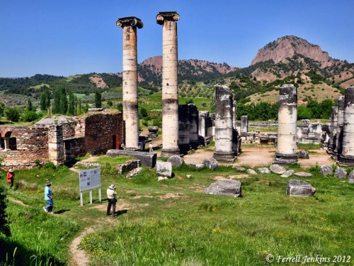 Sardis. Temple of Artemis. View West. Photo by Ferrell Jenkins.