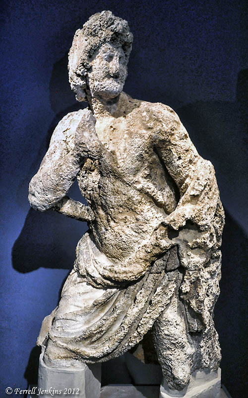 Possibly Achilles. The Antikythera Shipwreck. Athens National Museum. Photo by Ferrell Jenkins.