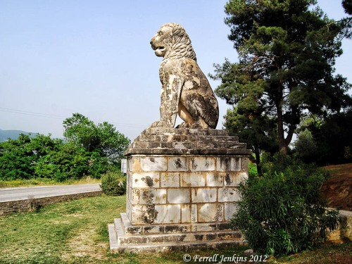 The Lion of Amphipolis, Greece. Photo by Ferrell Jenkins.