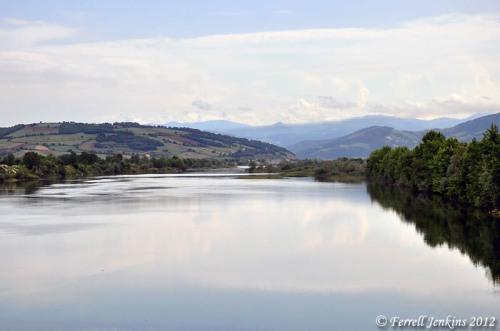 Kizilirmak (Halys) River flowing to the Black Sea. Photo by Ferrell Jenkins.