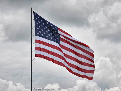 Flag of the United States of America. Photo by Ferrell Jenkins.