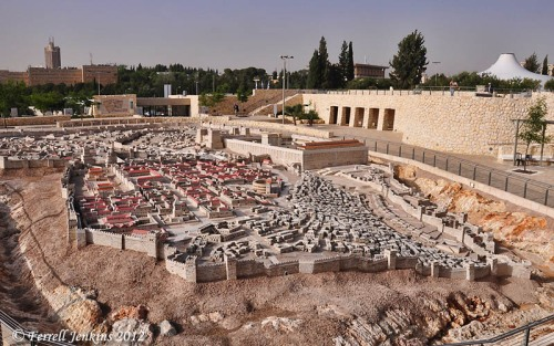 Model of the city of Jerusalem in the time of Jesus. Photo by Ferrell Jenkins.