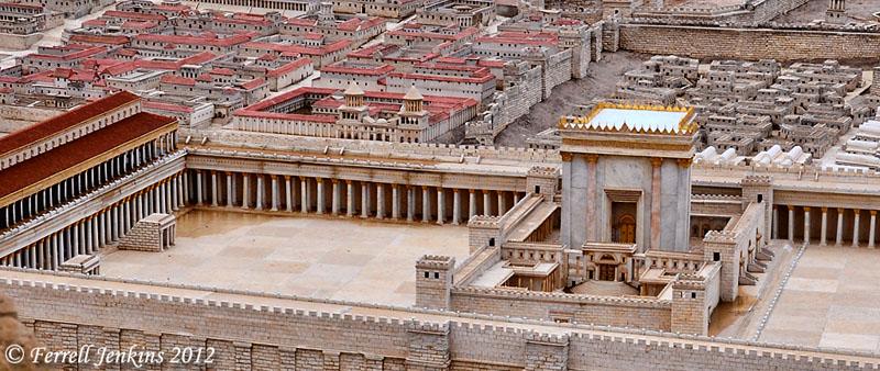 Jerusalem Second Temple Diagram