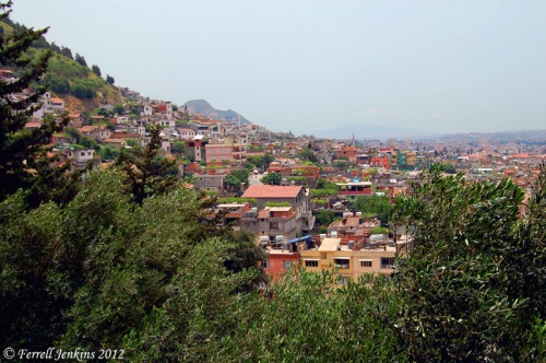 Antakya, Turkey (biblical Antioch of Syria). View south from slopes of Mt. Silpius. Photo by Ferrell Jenkins.
