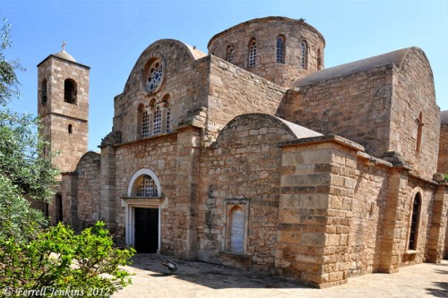 Church of St. Barnabas at Salamis, Cyprus.