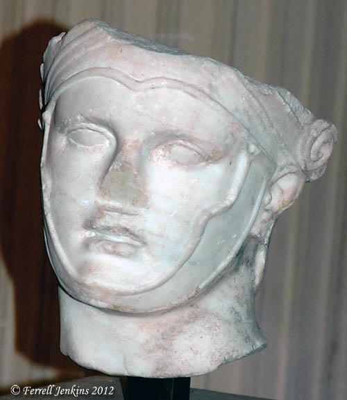 Seleucus I Nicator, King of Syria (358-280 B.C.). Louvre. Photo by Ferrell Jenkins.