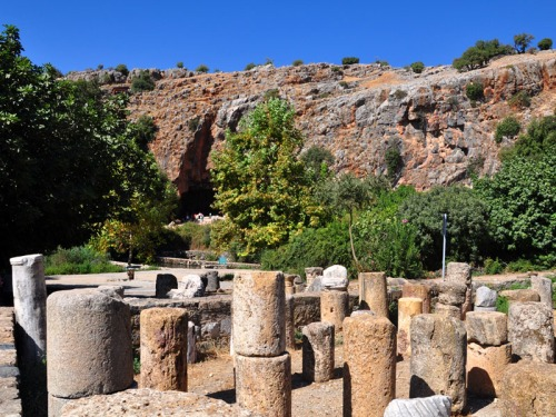 Caesarea Philippi. Photo by Ferrell Jenkins.