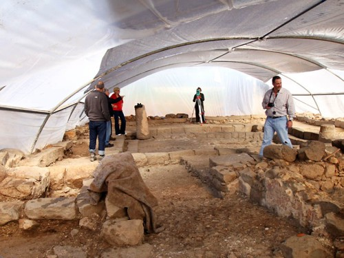 The Magdala/Migdal Synagogue. Photo by Jim Joyner.