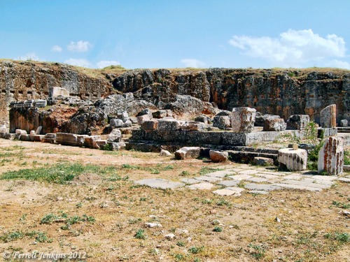 The Augustus Imperial Sanctuary at Pisidian Antioch. Photo by Ferrell Jenkins.