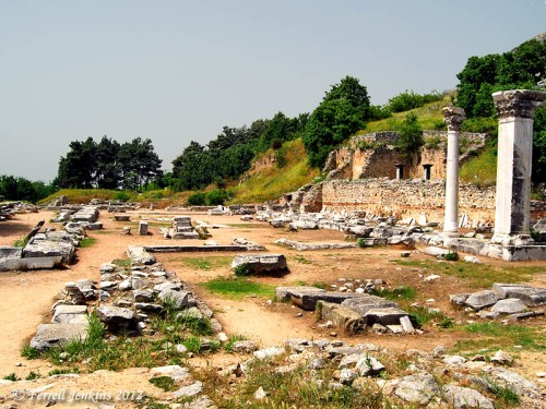 Forum of Philippi. Photo by Ferrell Jenkins.
