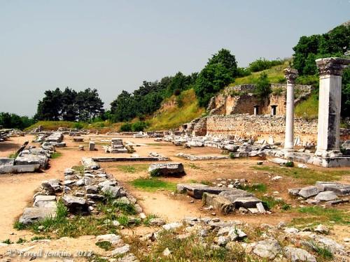 Forum of Philippi. Photo by Ferrell Jenkins.