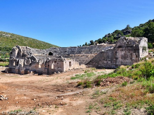 Theater at Patara. Photo by Ferrell Jenkins.