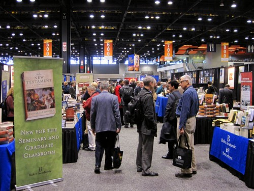 The AAR/SBL book exhibit, Chicago, 2012. Photo by Ferrell Jenkins.