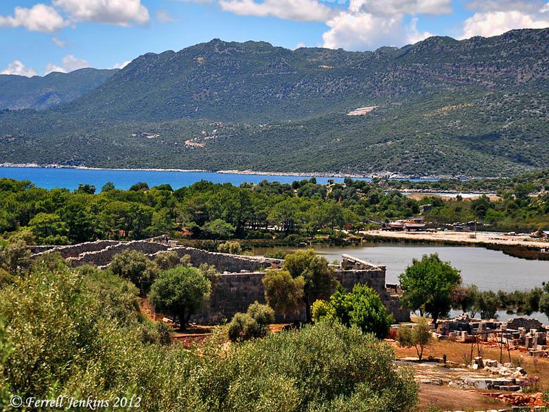 Anriake, the harbor of Myra, Photo by Ferrell Jenkins