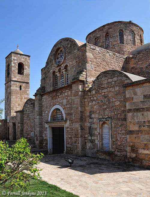 The Church of Barnabas at Salamis. Photo by Ferrell Jenkins.