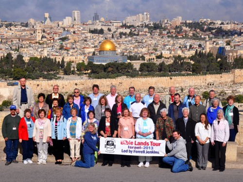 Jenkins Bible Land Group - Jerusalem - April 22, 2013.