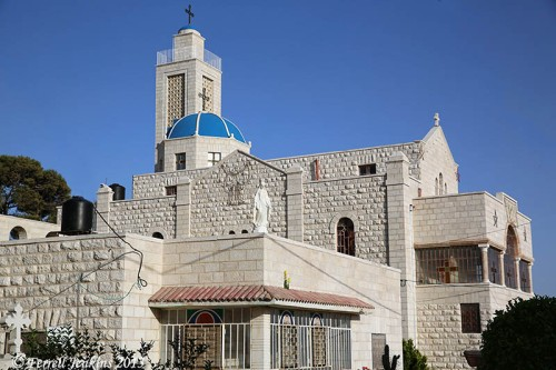 Greek Orthodox church at Taybeh. Photo by Dan Kingsley.