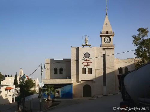 The Latin Church at Taybeh. Photo by Dan Kingsley.