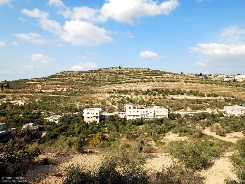 The Hill of Samaria. Photo by Ferrell Jenkins.