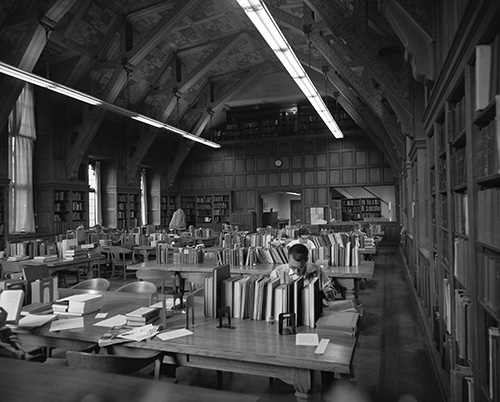 Oriental Institute Research Area about 1975.