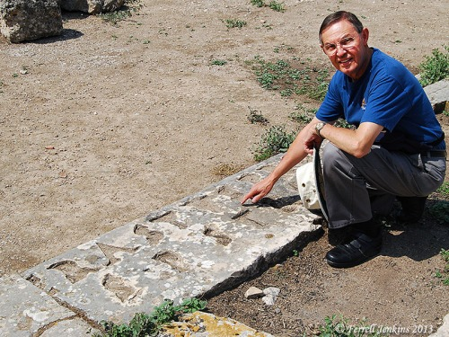 Ferrell Jenkins points to the Erastus Inscription at Corinth.