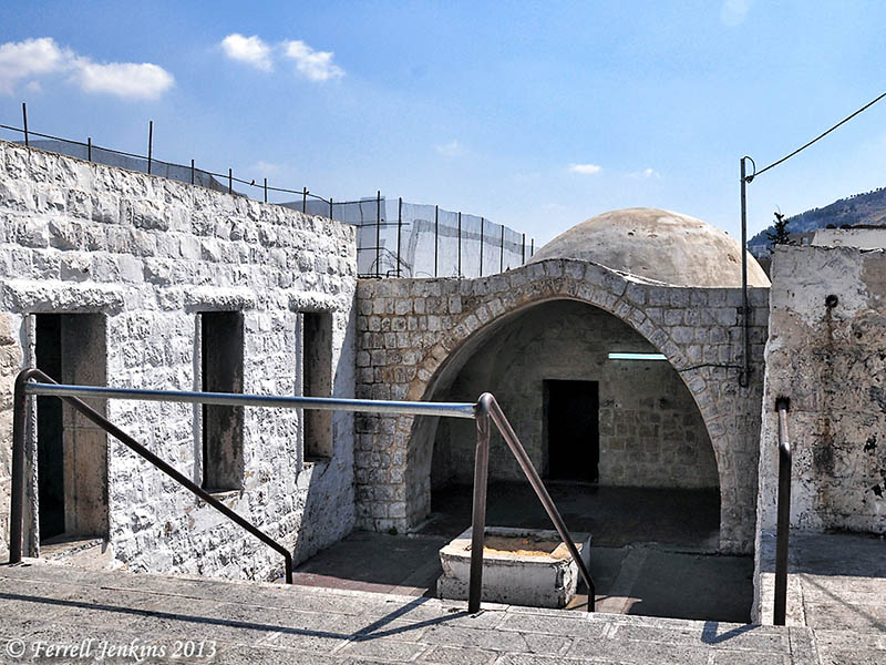 Joseph's Tomb in Shechem