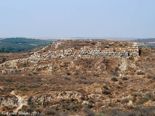 The Judean fort at Lachish. Photo by Ferrell Jenkins.