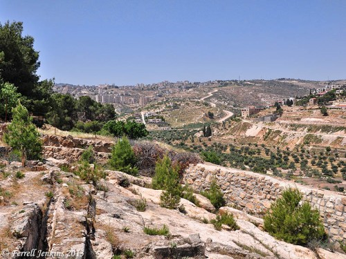 Shepherd's fields at Beit Sahour. Photo by Ferrell Jenkins