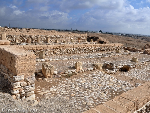 Storehouses at Beersheba. Photo by Ferrell Jenkins.