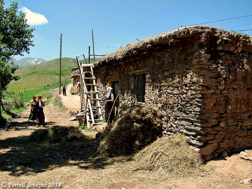 A house in Turkey between Van and Batman. In ancient times the area was known as Urartu (Biblical Ararat). Photo by Ferrell Jenkins.