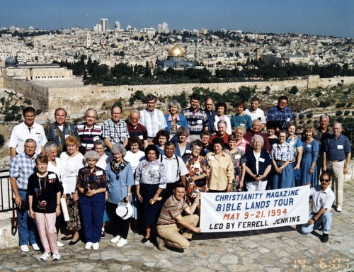 Ferrell Jenkins 1994 group with Elie Ben Meir.