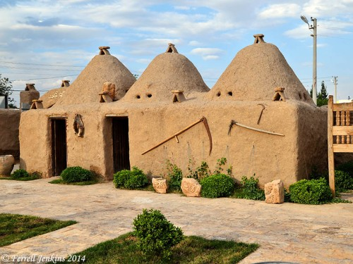 Beehive-shaped houses at Harran. Photo by Ferrell Jenkins.