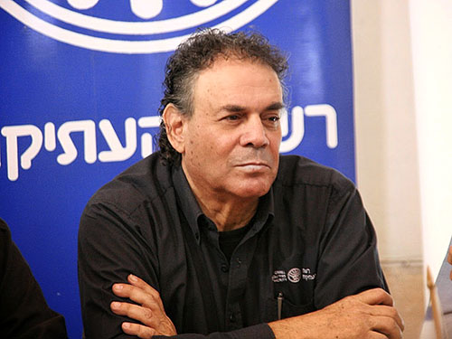 IAA Director Shuka Dorfman. Photo: Israel Antiquities Authority.