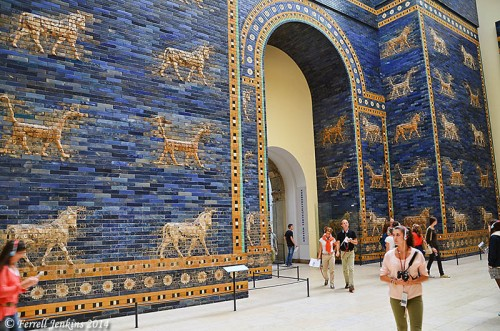 The Babylon Ishtar Gate. Berlin. Photo by Ferrell Jenkins.