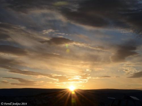 Cappadocian Sunrise May 10, 2014. Photo by Ferrell Jenkins.
