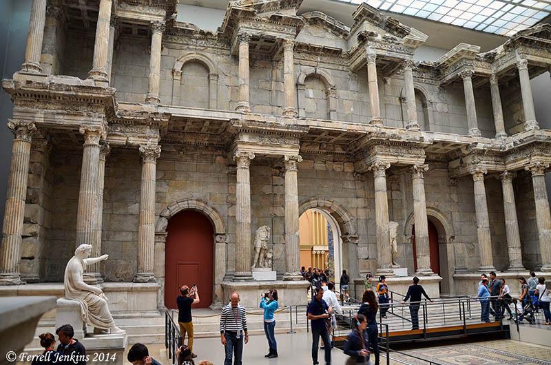The Miletus Market Gate in the Pergamum Museum  Ferrells ...