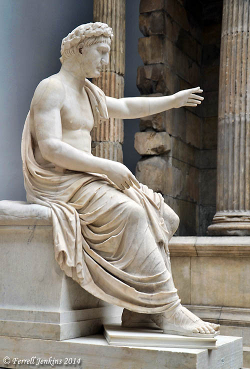 The Emperor Trajan (A.D. 98-117). Photo by Ferrell Jenkins.