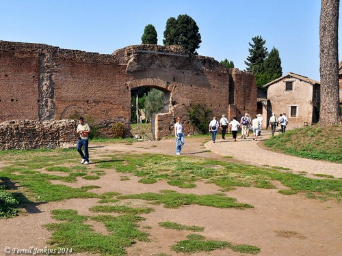 House of Augustus on the Palatine Hill, Rome. Photo by Ferrell Jenkins.