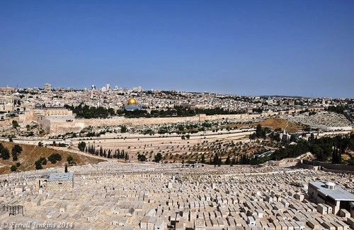 Jerusalem from the Mount of Olives. Photo by Ferrell Jenkins.