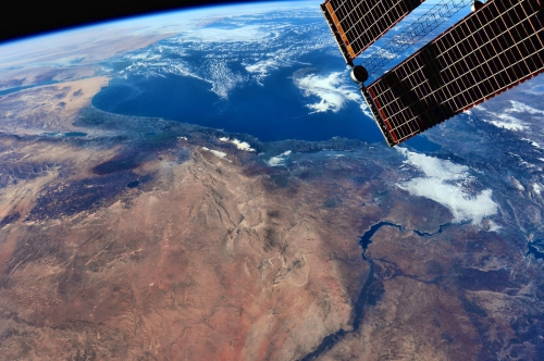 The Middle East from the ISS. Photo: NASA/Barry Wilmore.