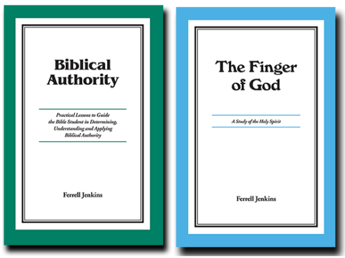 Two revised books by Ferrell Jenkins now available.