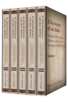 A Dictionary of the Bible (5 vols)